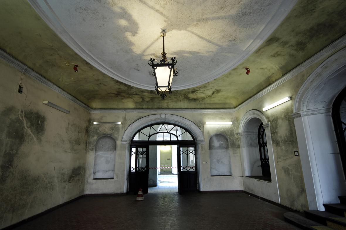 Zámek Paskov před rekonstrukcí