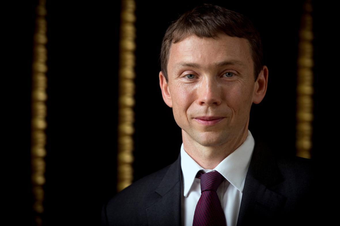 Petr Sýkora, laureát Ceny Arnošta Lustiga za rok 2014