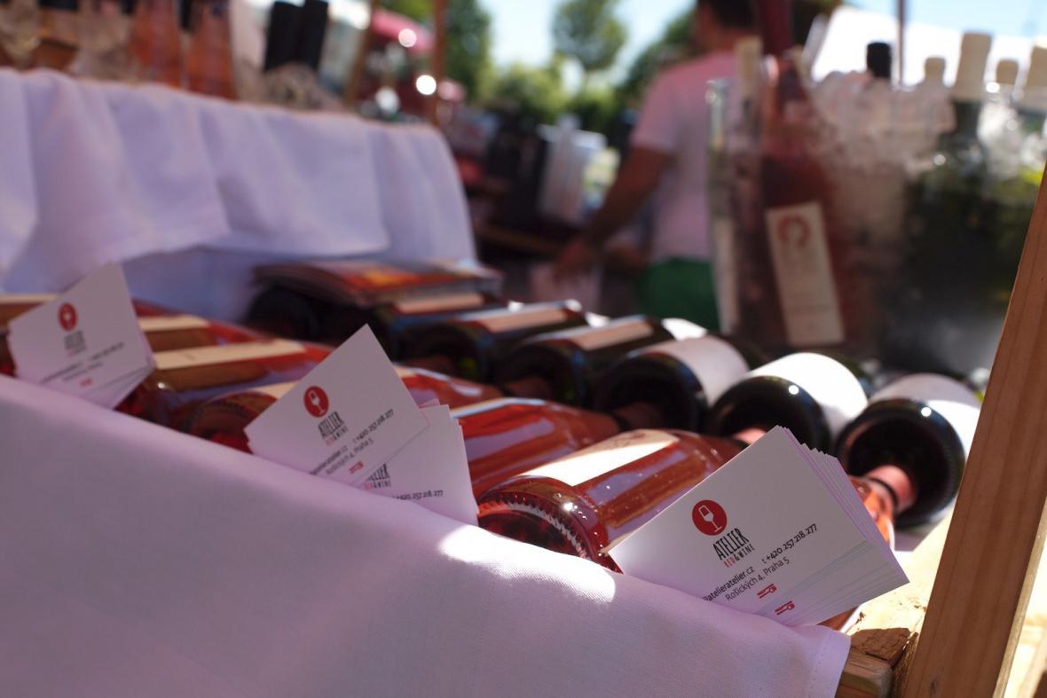 Festival vín na Týdnu Francie
