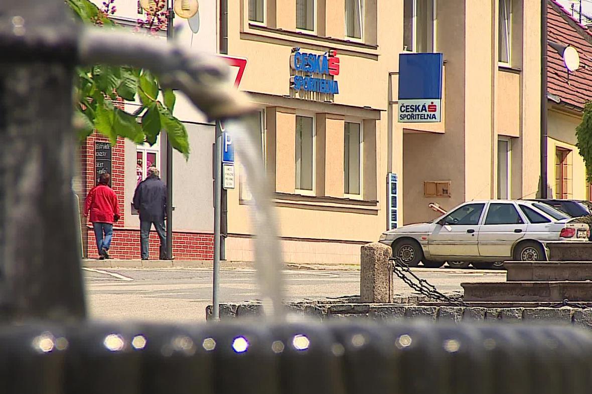 Česká spořitelna v Olešnici na Blanensku