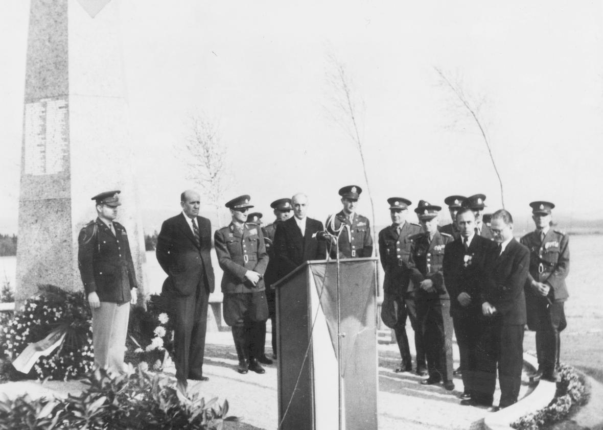 Slavnostní odhalení - 1947