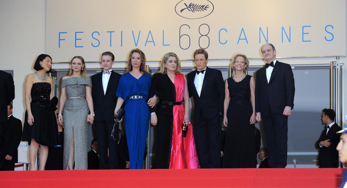 Cannes a Catherine Deneuveová