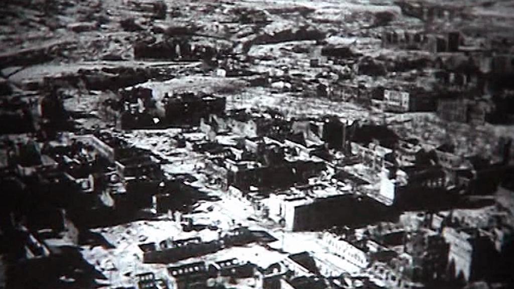 Po bitvě o Stalingrad nezůstal prakticky ani jediný dům nepoškozený