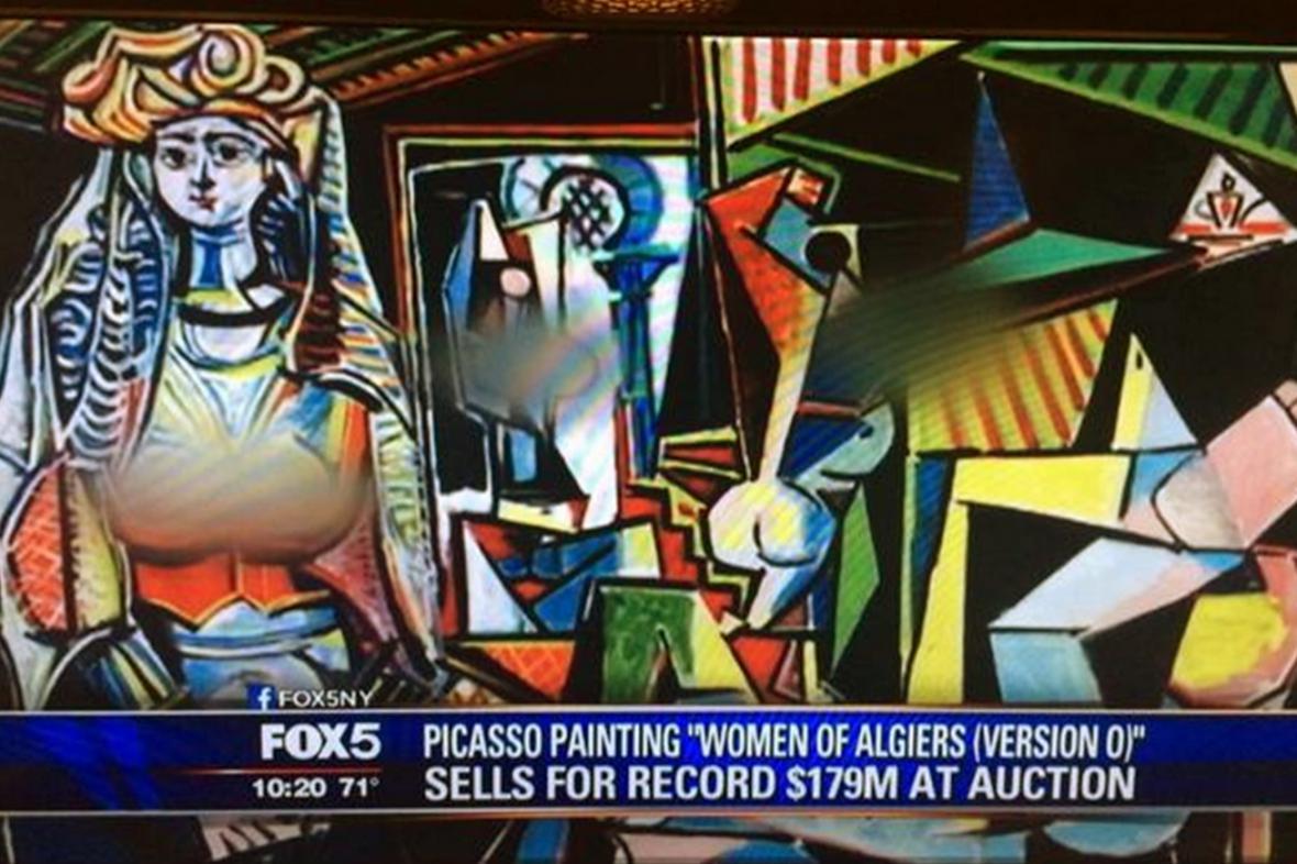 Fox News cenzurovala Alžírské ženy Pabla Picassa