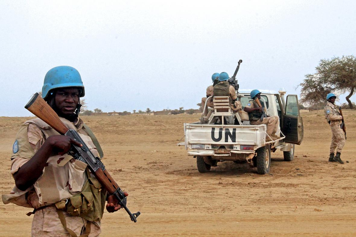 Jednotky OSN v Mali