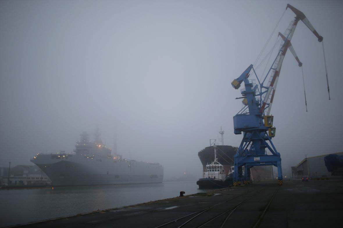 Osud mistralů pro Rusko zůstává v mlze
