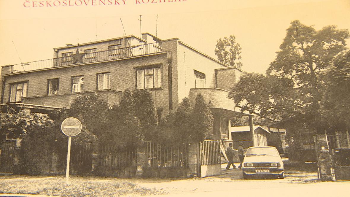 Fuchsova vila na archivním snímku