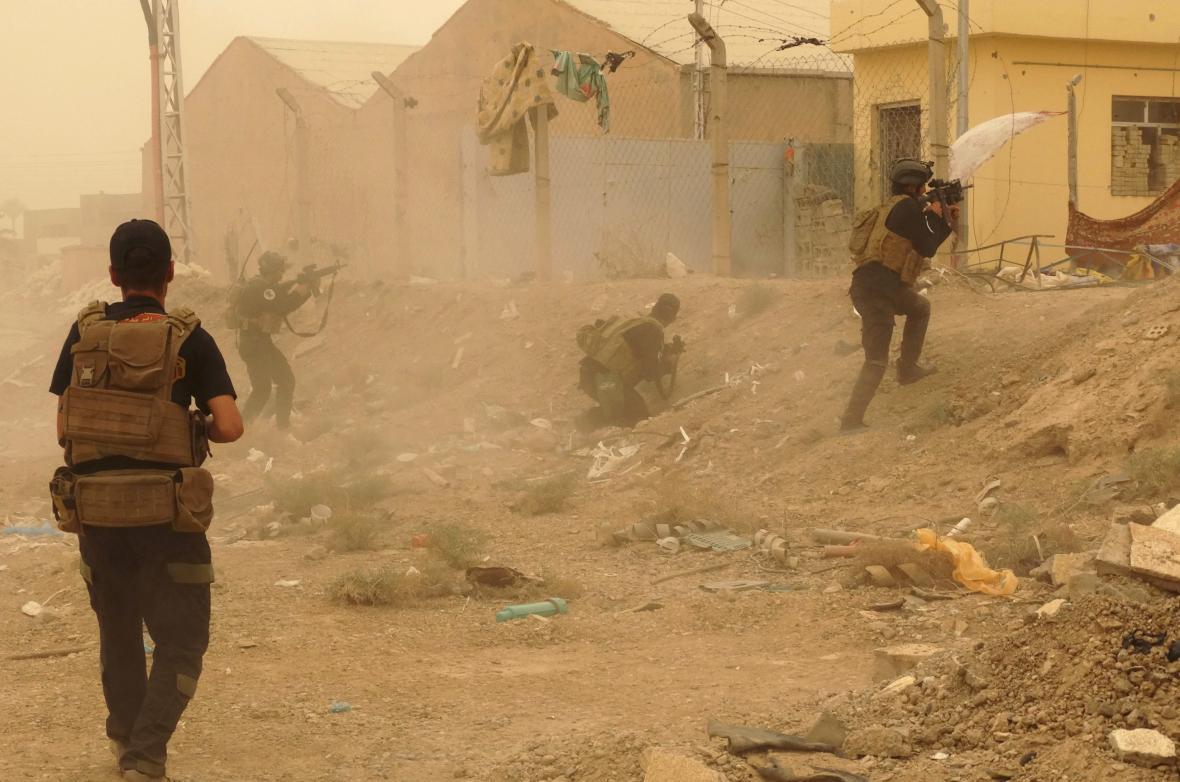 Boje v Ramádí