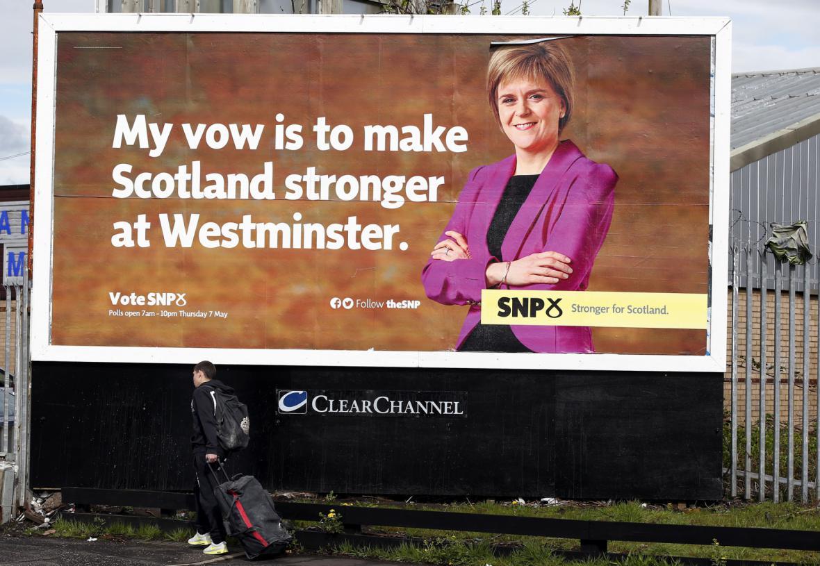 Nicola Sturgeonová chce v parlamentu bojovat za práva Skotů