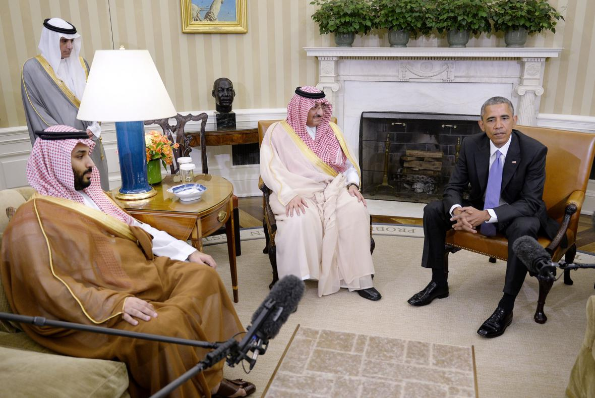 Barack Obama jednal s arabskými spojenci
