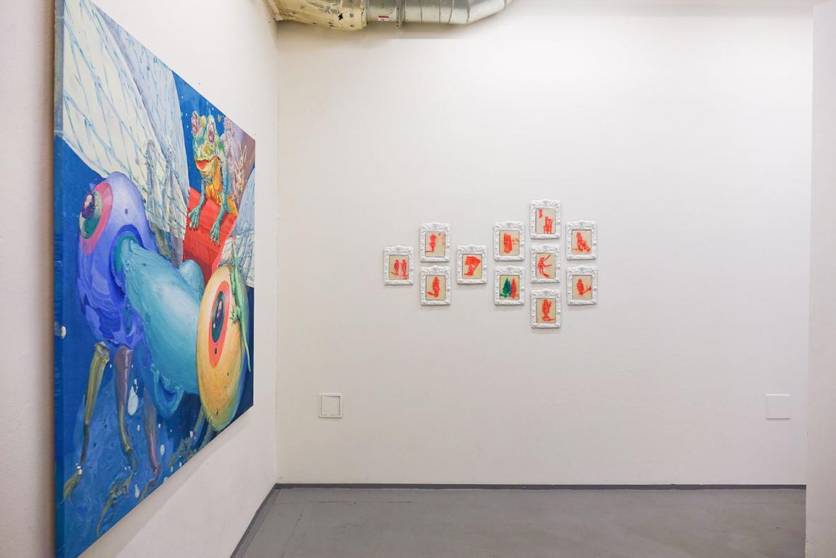 Z výstavy Exprese (Galerie NoD)
