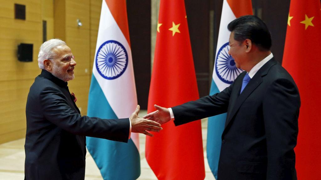 Premiéři Indie a Číny: Nárendra Módí a Li Kche-čchiang