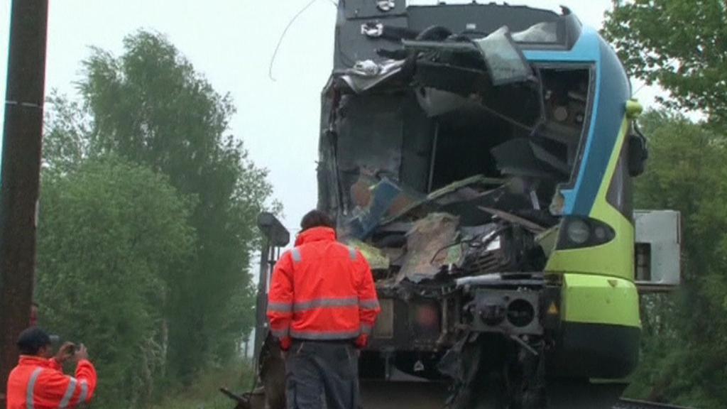 Nehoda vlaku mezi Osnabrückem a Ibbenbürenem