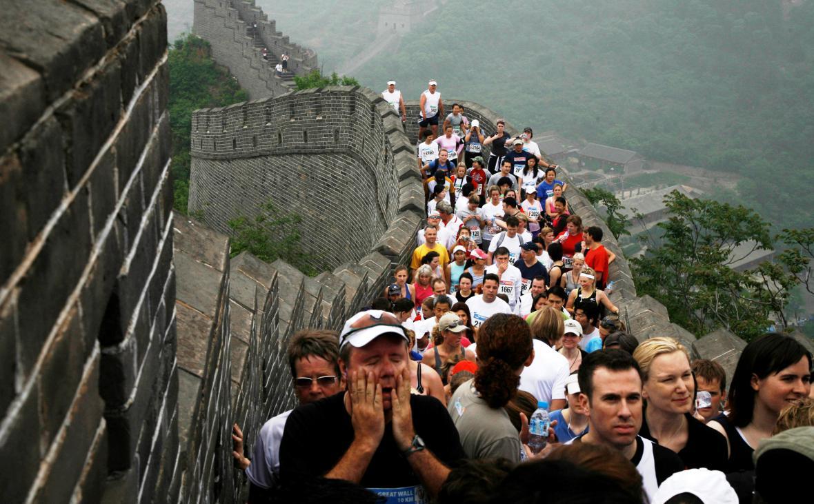 Maraton na Velké čínské zdi