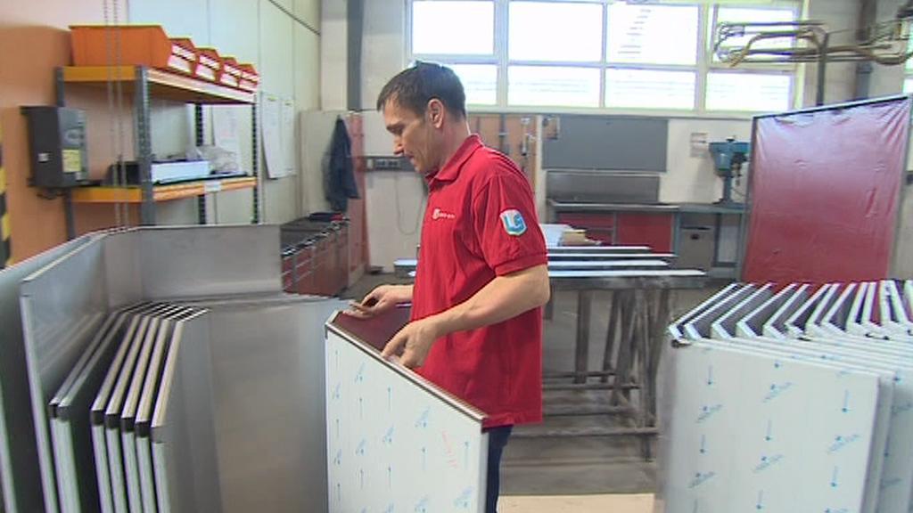 Dmytro Koditek, který se přistěhoval do Česka, pracuje ve Slavkově u Brna