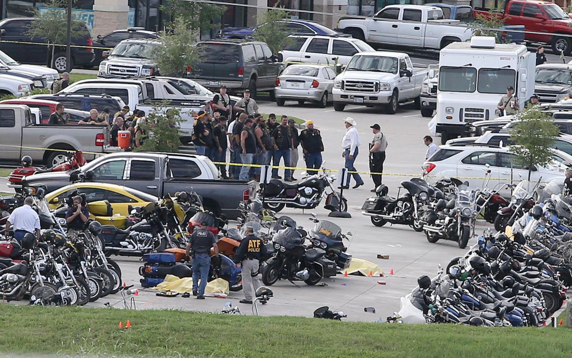 Přestřelka v texaském městě Waco