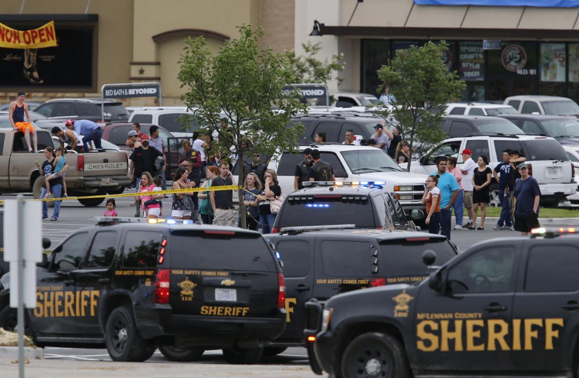Přestřelka v Texasu