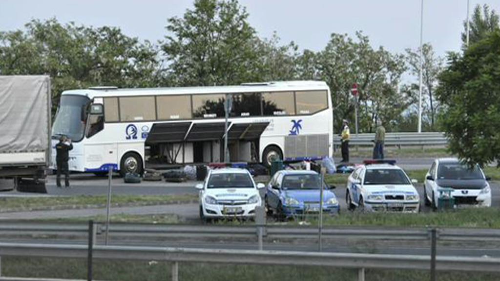 Autobus, ve kterém se údajně našla bomba