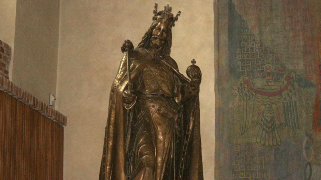 Socha Karla IV. v Karolinu