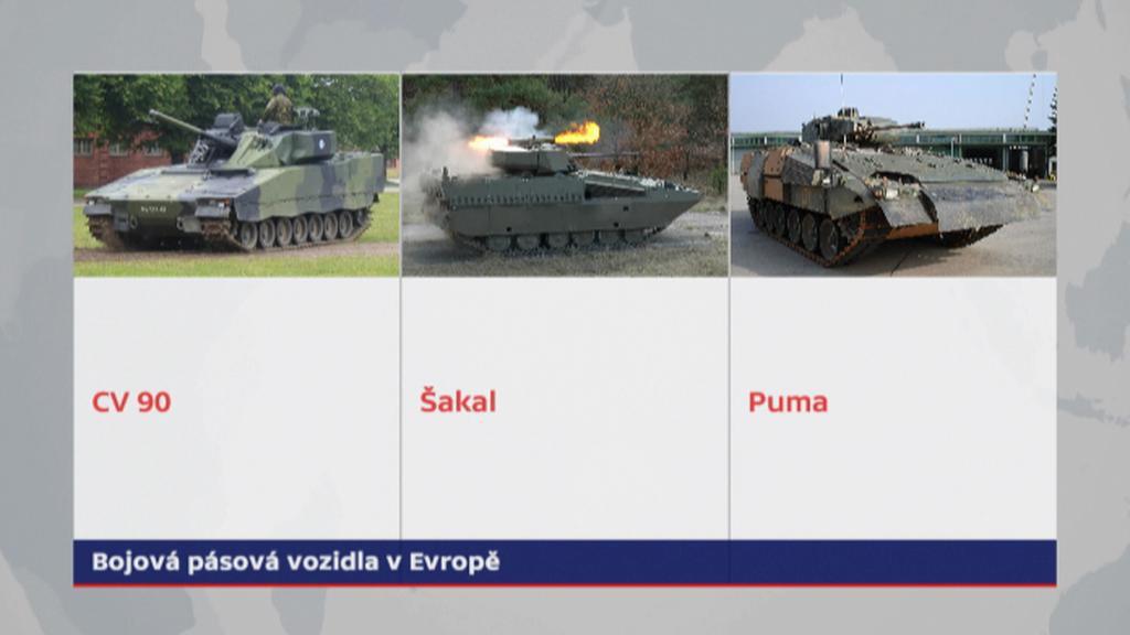 Varianty budoucích obrněnců české armády