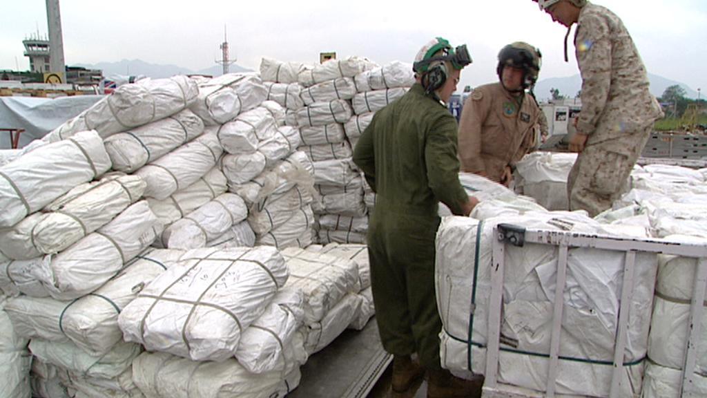 Humanitární pomoc pro Nepál
