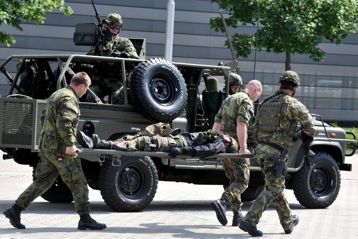 Veletrh obranné a bezpečnostní techniky IDET