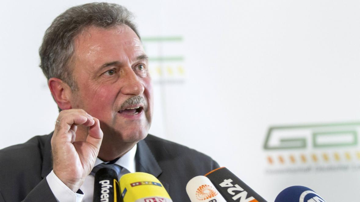 Šéf GDL Claus Weselsky