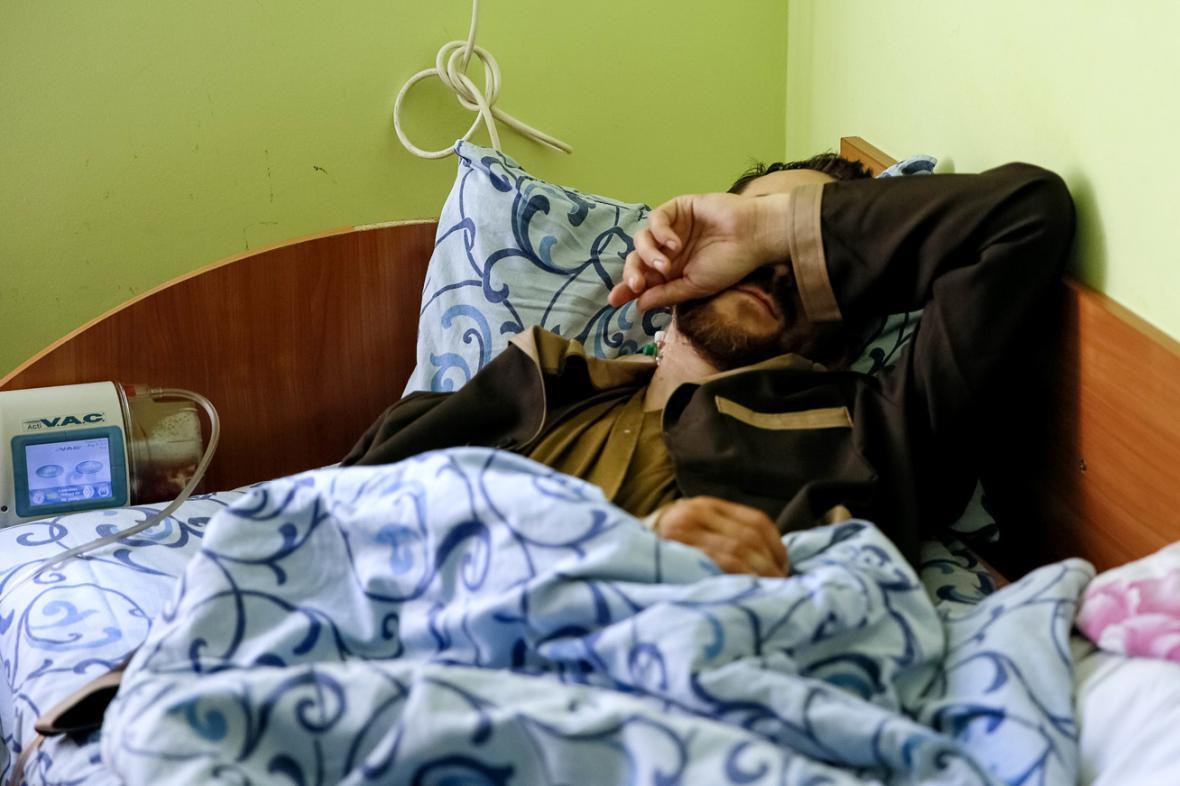 Zadržený ruský voják Jevgenij Jerofejev