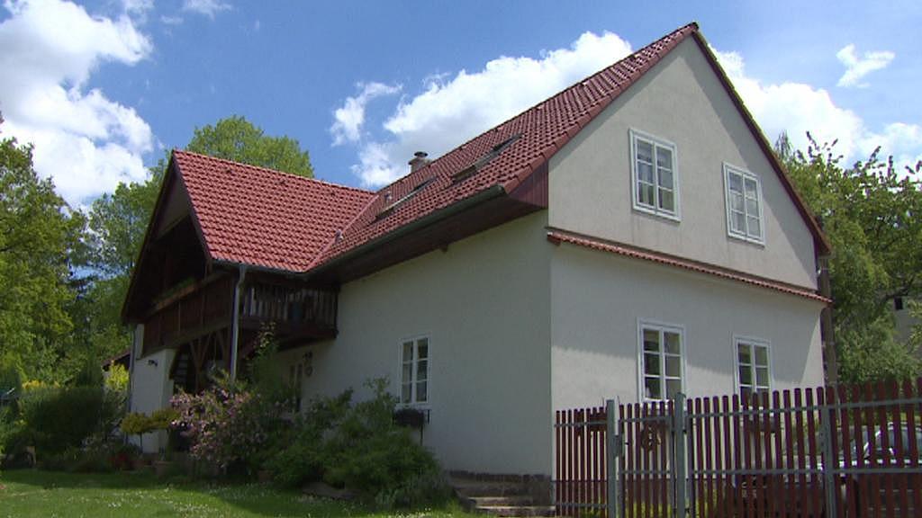 Dům, kde bydleli Pachnerovi i Macháčkovi