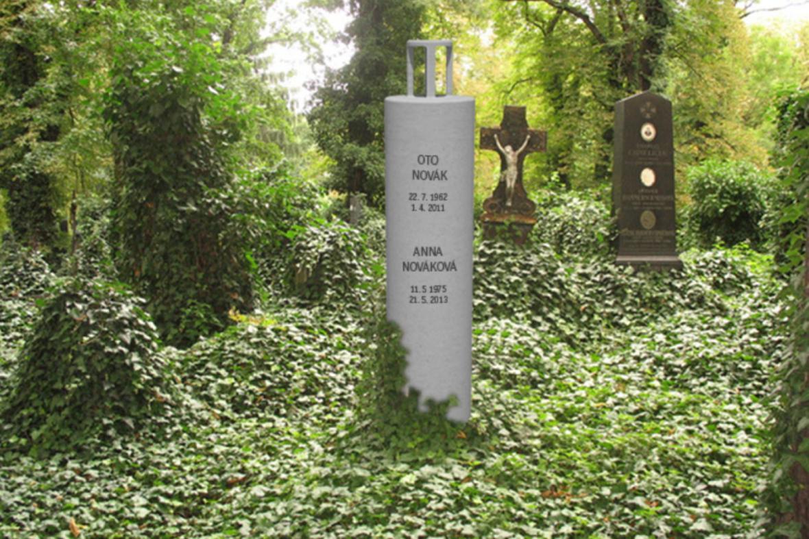 2. místo - Tomáš Černý / Vícegenerační urnový hrob