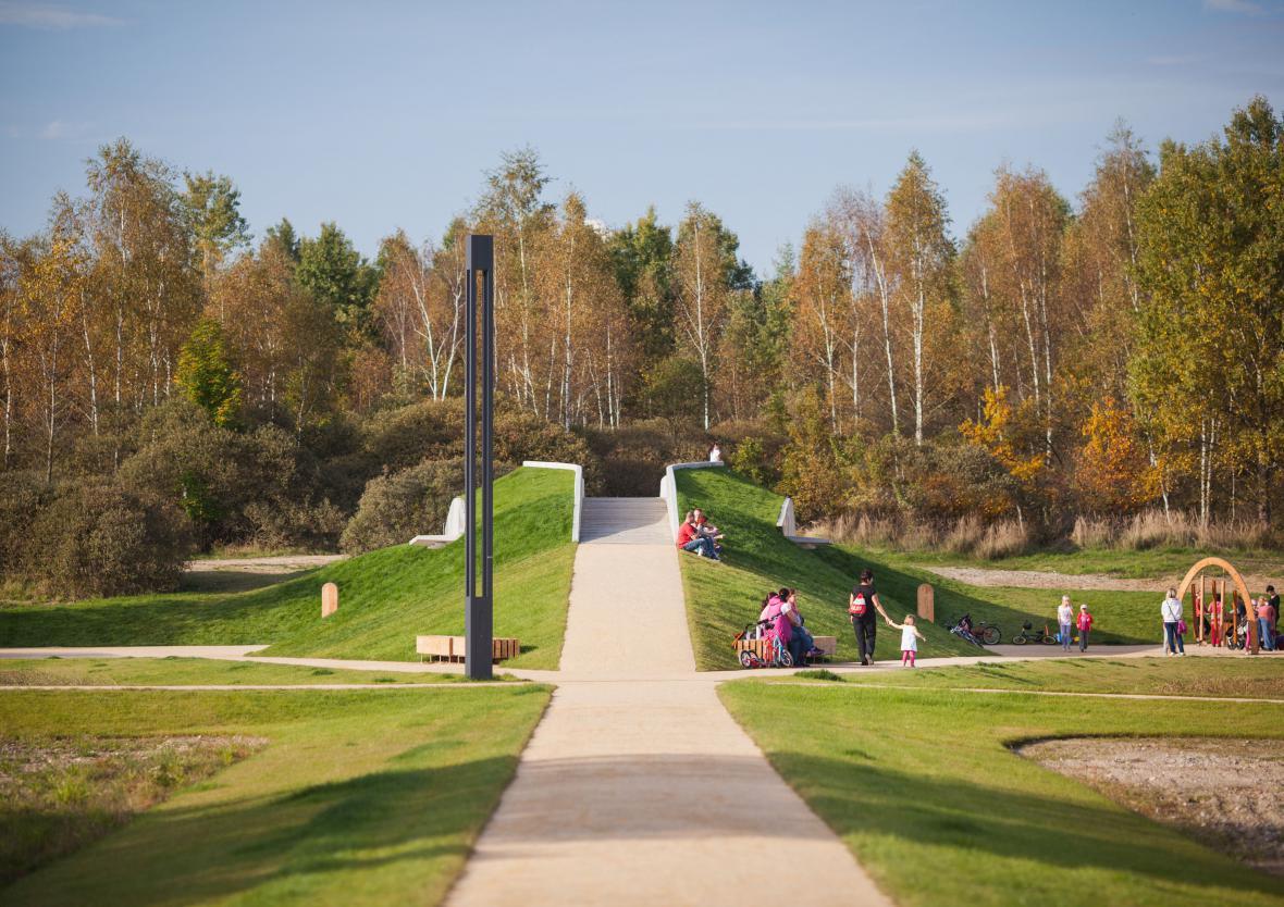 Park 4Dvory v Českých Budějovicích