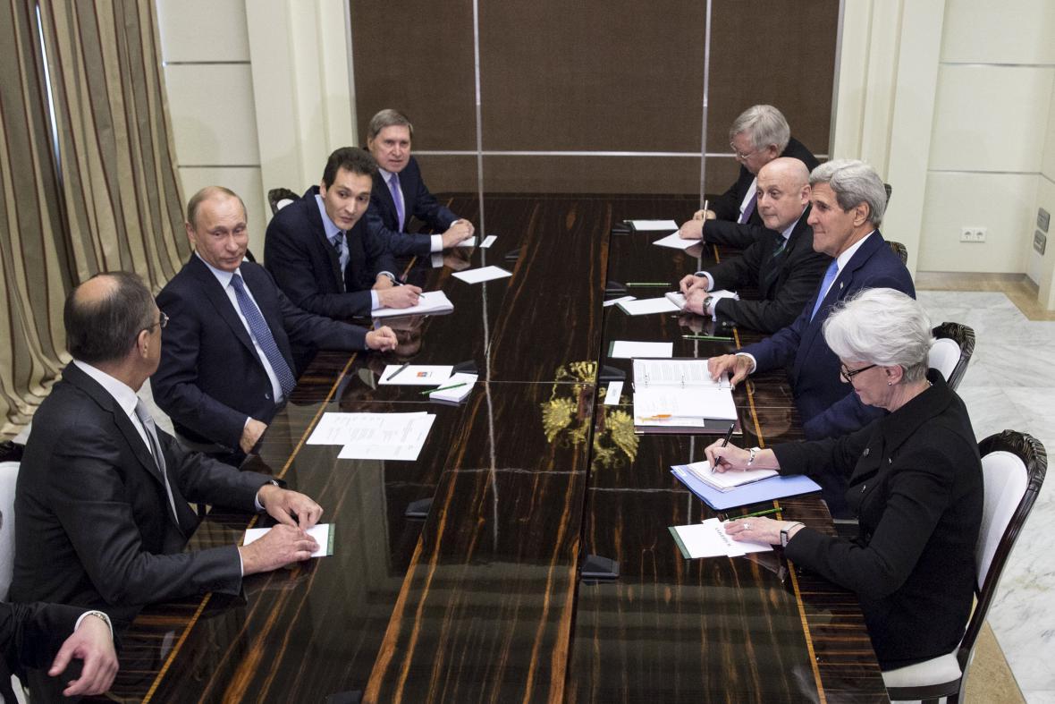 Rusko-americká jednání v Soči