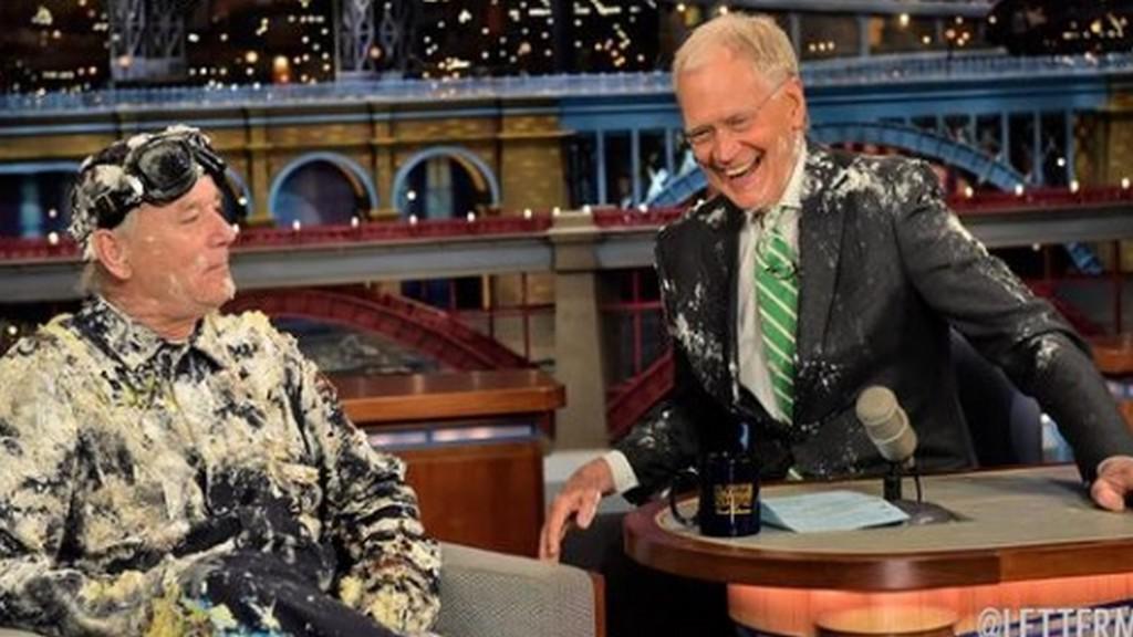 Bill Murray v Lettermanově show