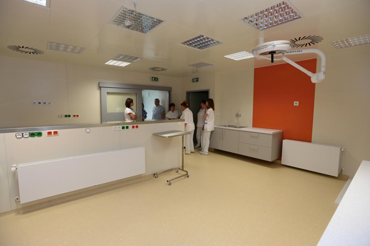 Ošetřovna ve Stodské nemocnici