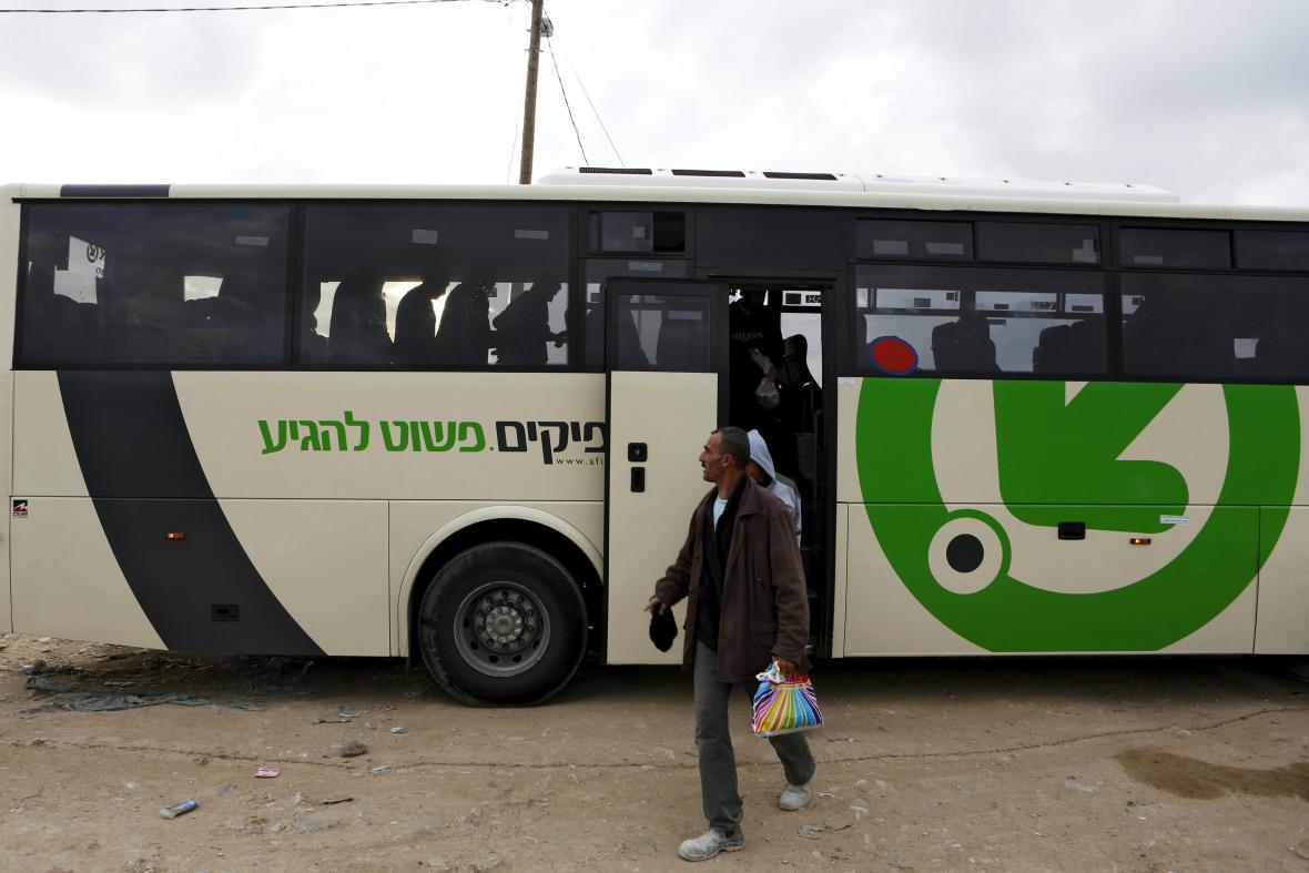 Palestinští dělníci
