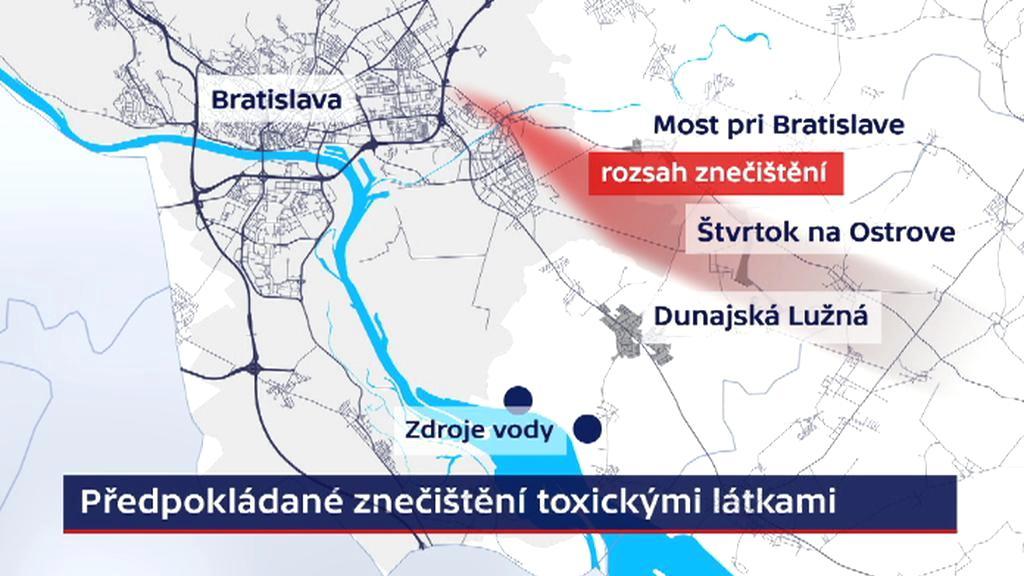 Skládka toxického odpadu na okraji Bratislavy