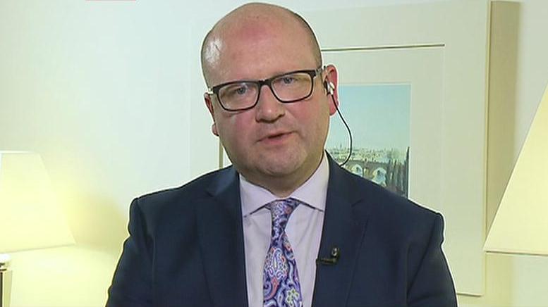 Irský ministr pro podnikání Gerald Nash