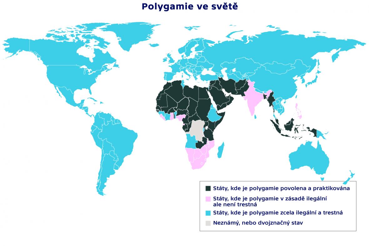 Polygamie ve světě