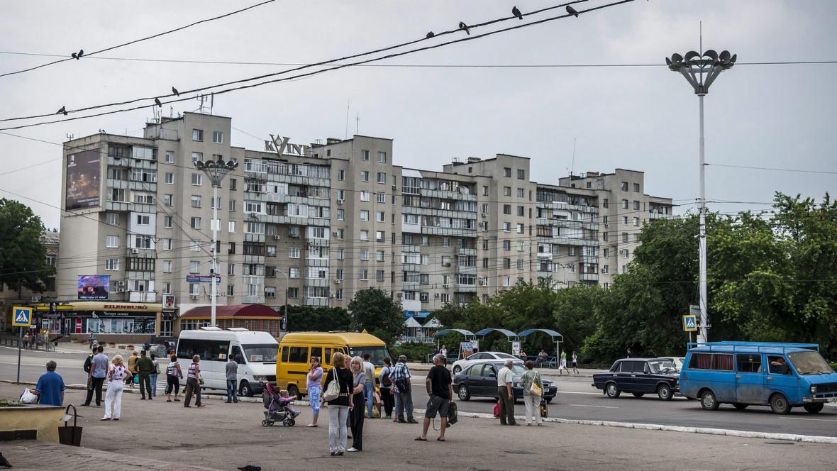 Hlavní město Podněsterské republiky Tiraspol