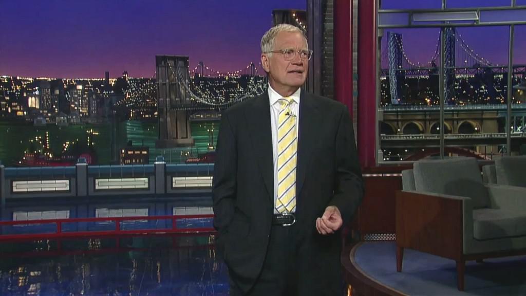 David Letterman ve své show