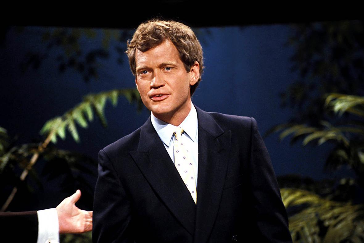 David Letterman v Late Show v roce 1986