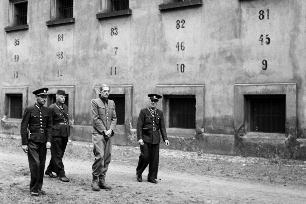 K. H. Frank v pankrácké věznici