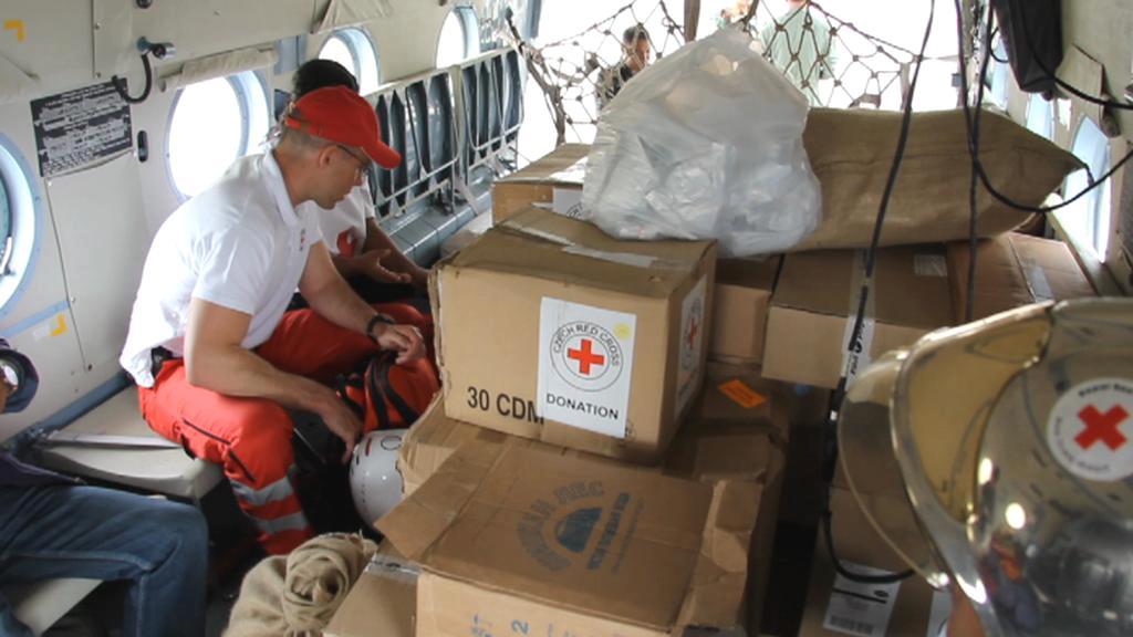 Zdravotnický materiál Českého červeného kříže
