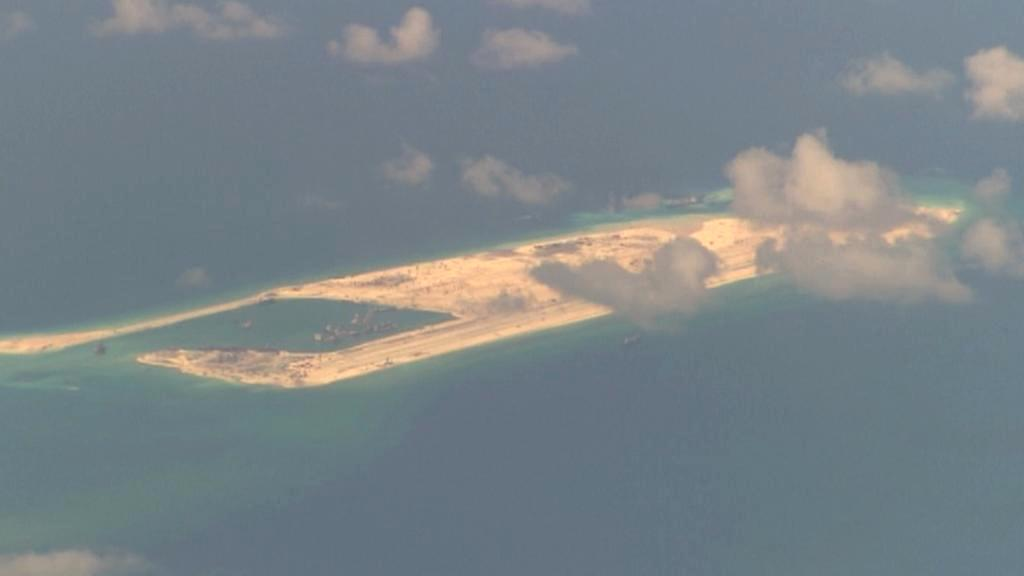 Rostoucí čínská základna v Jihočínském moři