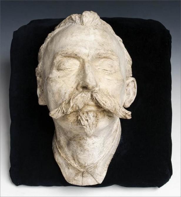 Posmrtná maska MUDr. Emila Holuba