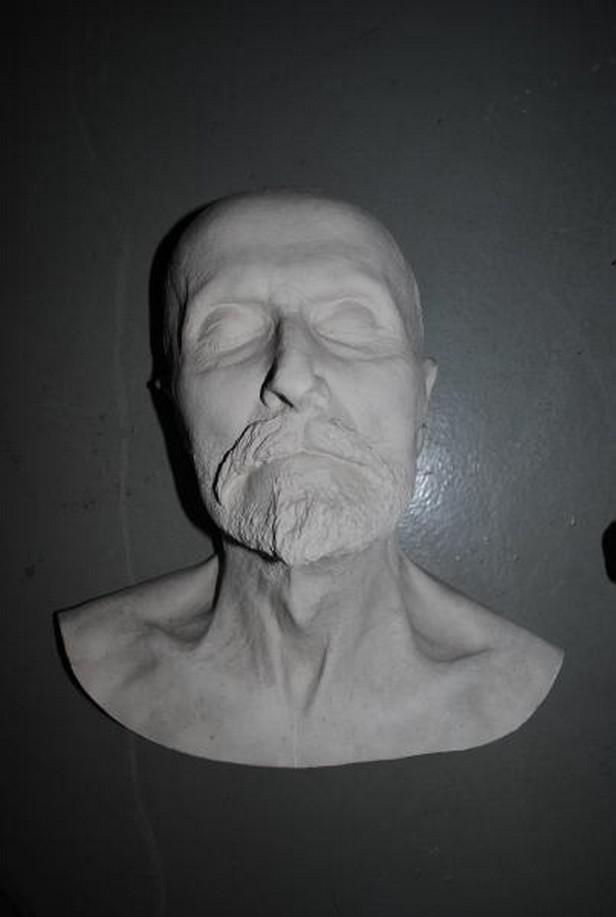 Posmrtný odlitek obličeje T.G.Masaryka