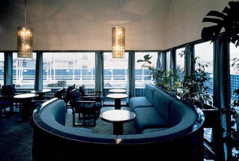 Restaurace Modrá terasa na archivním snímku