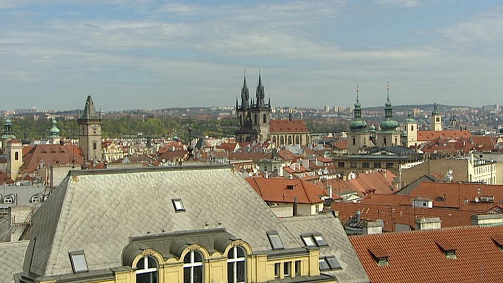 Pohled ze střechy OD My