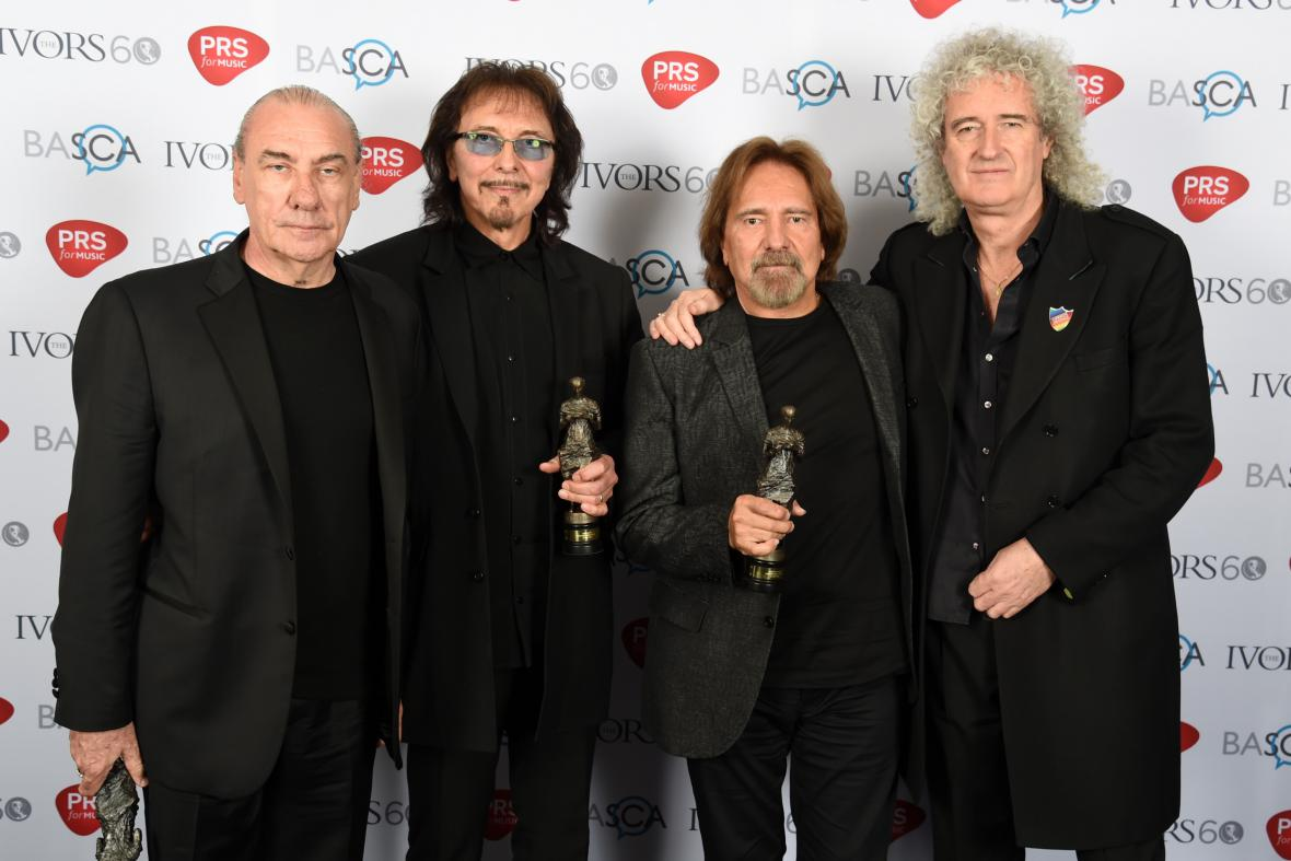Black Sabbath na Ivor Awards