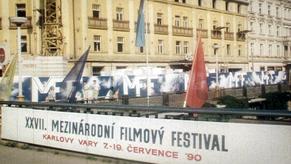 MFF Karlovy Vary v roce 1990